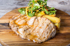 Prepared beef steak royalty free stock image