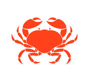 Prepared crab Royalty Free Stock Images