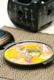 Prepared and delicious japanese chafing. Dish taken in studio Royalty Free Stock Images
