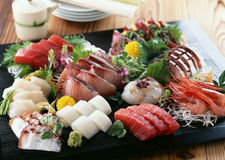 Prepared and delicious sushi Royalty Free Stock Photos