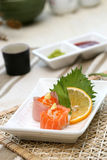 Prepared and delicious sushi. Prepared and delicious japanese sushi taken in studio Royalty Free Stock Photos