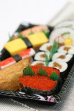 Prepared and delicious sushi taken in studio Stock Photo