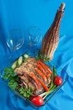 The prepared fish. Royalty Free Stock Photos