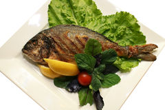 Prepared fish Royalty Free Stock Images