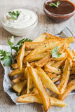 Prepared french fries Stock Photography