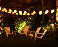 Garden party Stock Photography