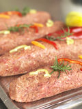 Kebab in a butchery Royalty Free Stock Images