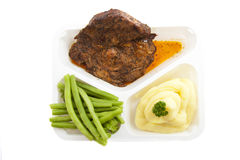 Prepared meal Stock Image