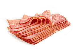 Prepared meat slices Royalty Free Stock Photo