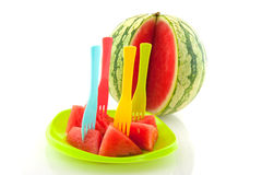 Prepared Melon Royalty Free Stock Images