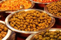 Prepared Olives. Stock Photos