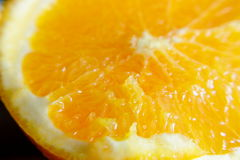 Prepared orange to eat Royalty Free Stock Photos