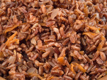 Prepared Red rice Royalty Free Stock Photography