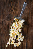 Prepared salted popcorn Royalty Free Stock Images