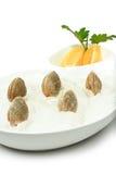 Prepared seashells Stock Photos