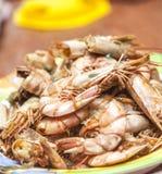 Prepared shrimps Royalty Free Stock Photo