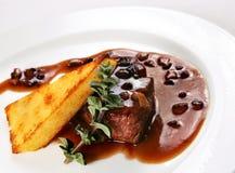 Prepared steak beef Royalty Free Stock Image