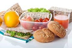 Prepared takeaway meal Royalty Free Stock Photos