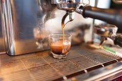 Prepares coffee Stock Photography