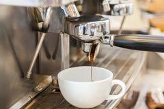Prepares espresso Stock Image