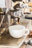 Prepares espresso Royalty Free Stock Image