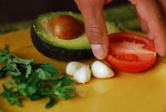 Prepari l'alimento Fotografia Stock Libera da Diritti