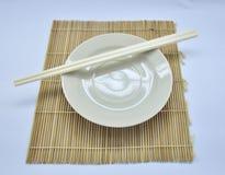 Prepari per mangiano nella tavola Immagine Stock Libera da Diritti