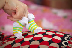 Preparing for the baby Royalty Free Stock Image