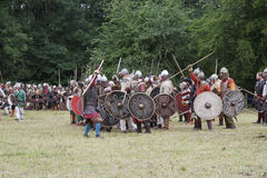 Preparing for Battle Royalty Free Stock Photography