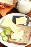 Preparing breakfast Royalty Free Stock Image