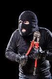 Preparing for burglary Stock Photography