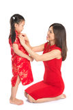 Preparing for Chinese New Year festival Stock Photos