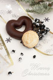 Preparing for christmas. Christmas accessories Stock Photo
