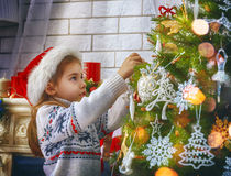 Preparing for Christmas Stock Images