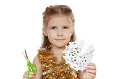 Preparing for the Christmas and New Year Royalty Free Stock Images