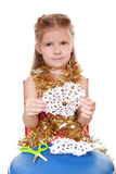 Preparing for the Christmas and New Year Royalty Free Stock Photography