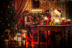 Preparing for christmas Stock Image