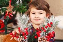 Preparing for the christmas - Stock Image Royalty Free Stock Photography