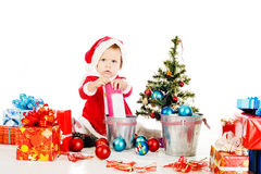 Preparing for christmass Stock Photo