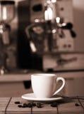Preparing coffee royalty free stock image