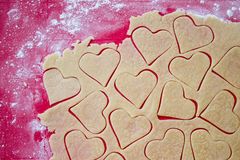 Preparing cookies Royalty Free Stock Photography