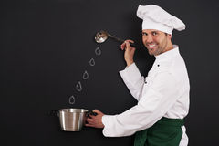 Preparing delicious dishes Stock Photo