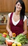 Preparing Dinner Stock Images