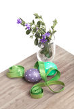 Preparing Easter decorations Stock Photo
