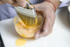Preparing Easter pie. Stock Photography