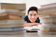 Preparing for the exams Stock Images