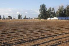 Preparing Farm Land for Planting Royalty Free Stock Image