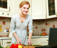 Preparing food Royalty Free Stock Image