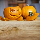 Preparing For Halloween Royalty Free Stock Photos