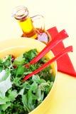 Preparing fresh salad. Still life. Royalty Free Stock Photos